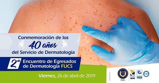 Conmemoracin de los 40 aos servicio de Dermatologa Ho