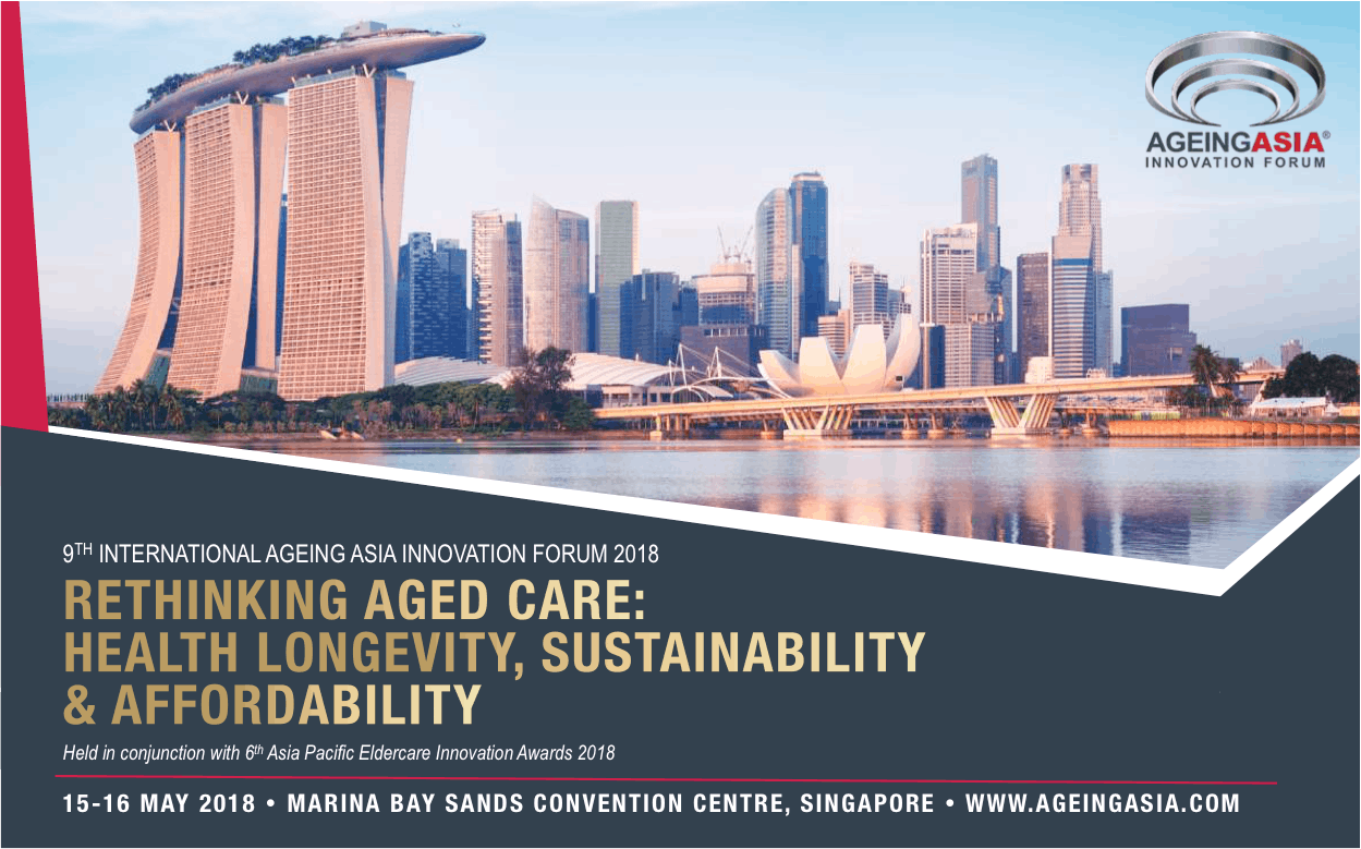 Ageing Asia Innovation Showcase Exhibition 2018 - Limited Tickets