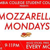 CCSC Presents Mozzarella Mondays
