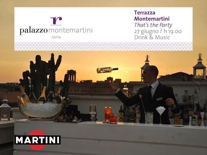 Martini AperoParty Roof Top @Terrazza Montemartini at Palazzo ...
