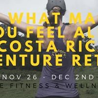 Costa Rica Adventure Womens retreat