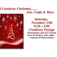 A Cranberry Christmas - Arts Crafts and More Sale