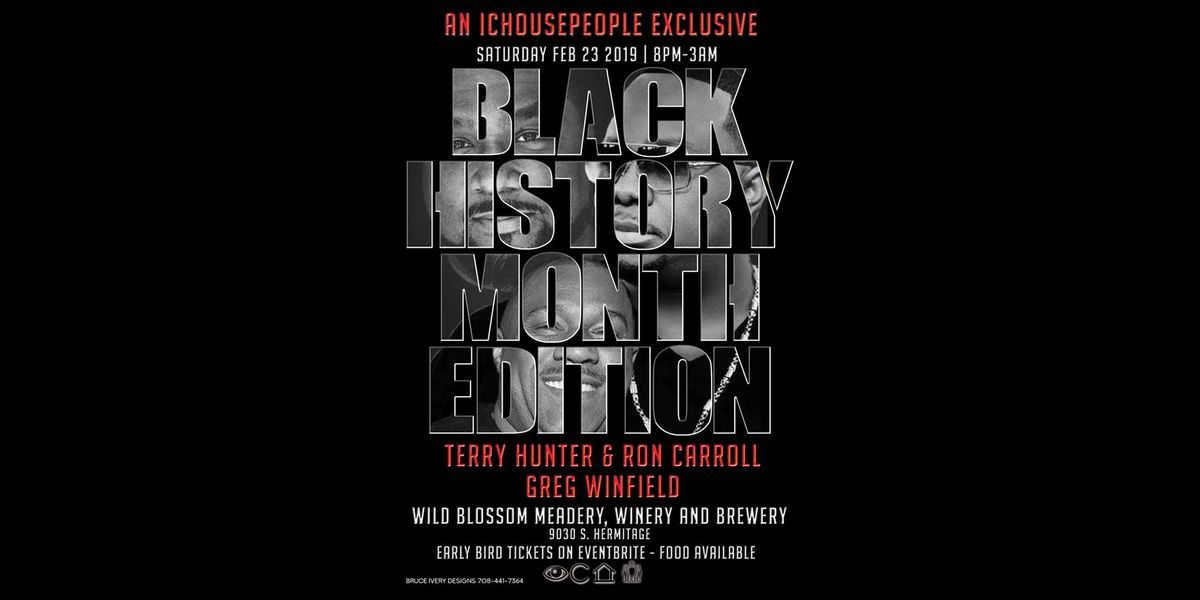 ICHOUSEPEOPLE Presents Black History Month House Music Edition