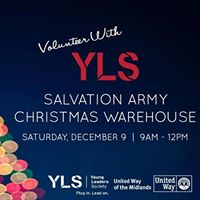 Volunteer with YLS at The Salvation Army Christmas Warehouse