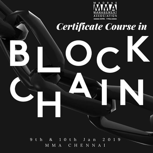 Two Day Certificate Course in Building Blockchain using Ethereum