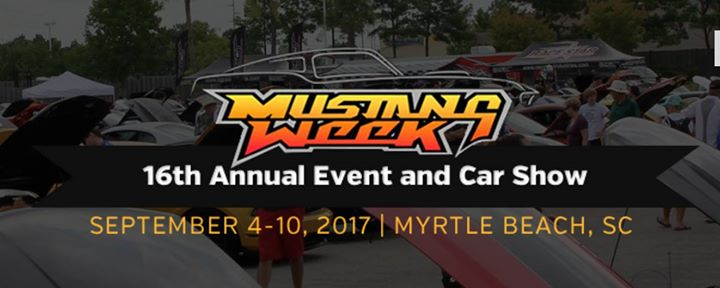 Mustang Week 2017 At Myrtle Beach Sc United States Myrtle Beach