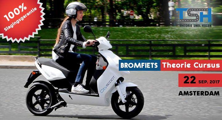 Bromfiets theoriecursus 22 sep 2017