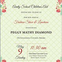 Amity SCAs Annual Fashion Show &amp Luncheon