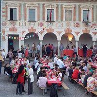Festa popolare in Piazza Monta