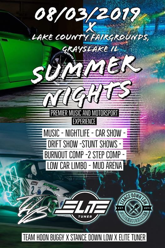 Cruise To Summer Nights Music & Motorsport Experience at Lake County