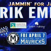 Rik Emmett Jammin For Jamie Concert Party