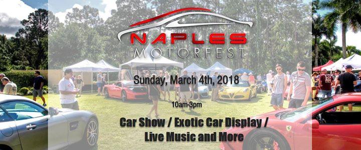 Naples Motorfest At Mercato Naples - Mercato car show