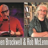 Lunch Poems at SFU presents Stephen Brockwell and Rob McLennan