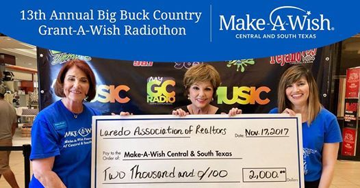 13th Annual Big Buck Country Grant-A-Wish Radiothon