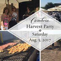 Wine Club Members Harvest Party