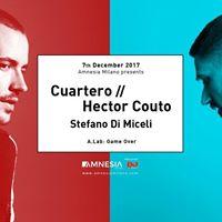 Cuartero - Hector Couto  Amnesia Milano