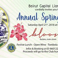 Beirut Capital Lions Club Annual Spring Lunch