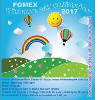 FOMEX Childrens Day 2017 (Members-only event)