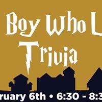 The Boy Who Lived Trivia Night