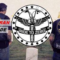 2017 3nd Annual Ride to Zero - Veteran Suicide Prevention Fundraiser Ride and Concert