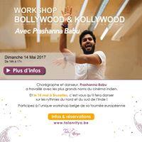 Bollywood &amp Kollywood workshop avecwith Prashanna Babu