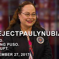 Reject Paulyn UBial as Secretary of Health