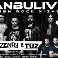 ZEMN &amp TUZ IstanbuLive  07.07.2017  Kulturbrcken Jungbusch