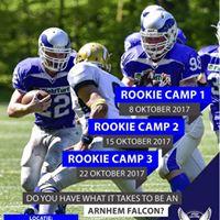 ROOKIE CAMP AMERICAN FOOTBALL