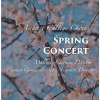 Amherst College Chorus Spring Concert