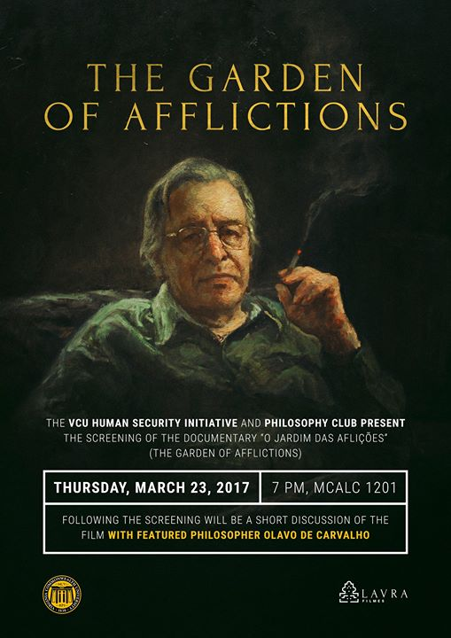 The Garden of Afflictions Film Screening and Q & A