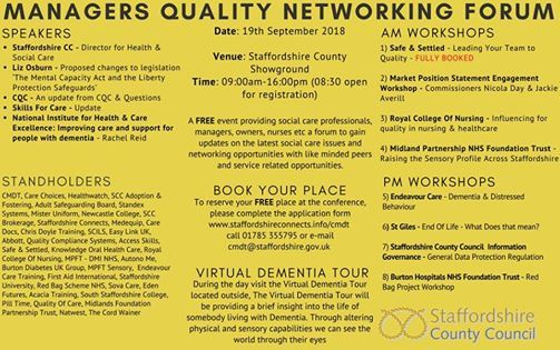 Managers Quality Networking Forum