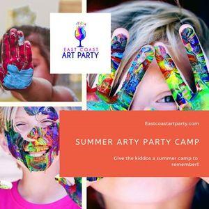 Summer Arty Party Kids Camp - Week 1 - Art Party Studio