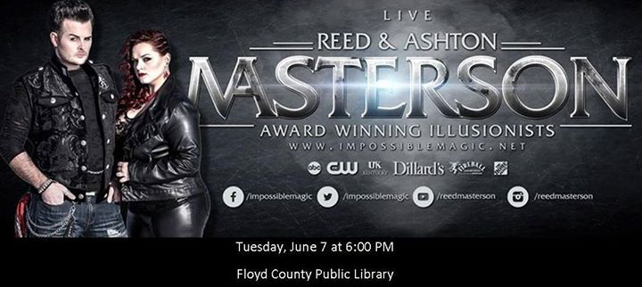 Impossible magic with reed ashton masterson at floyd for Floyd county arts and crafts festival