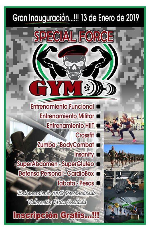 Gran inauguracin Special Force Gym