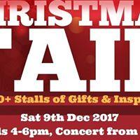Christmas Fair 2017 featuring Brindle Brass Band
