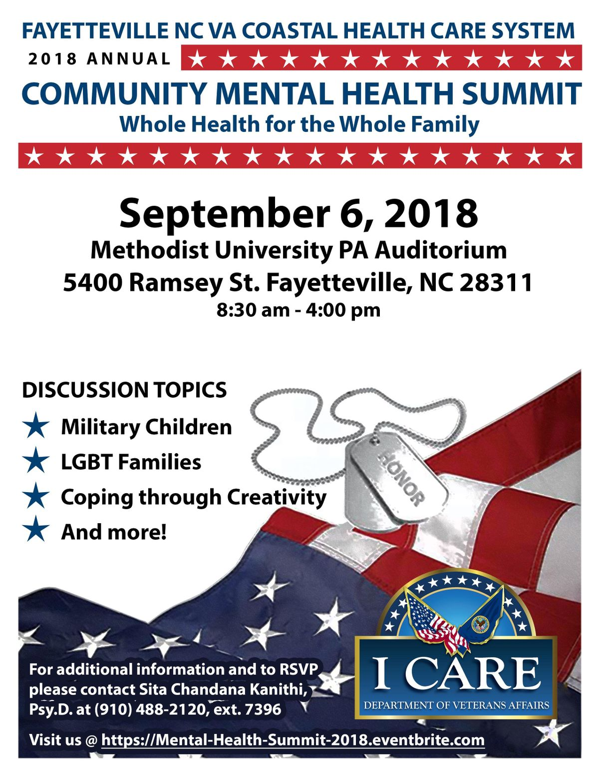 Va Community Mental Health Summit Whole Health For The Whole Family
