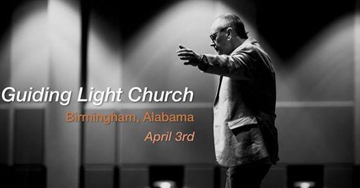 Pastor Todd Smith at the Guiding Light Church in Alabama