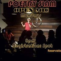 Poetry Slam 40  Open Mic