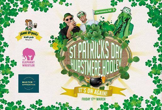 St Patricks Day Hurstmere Hooley
