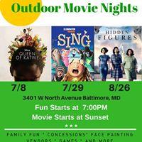 N Life Outdoor Movie Nights