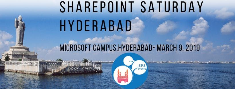 SharePoint Saturday Hyderabad 2019
