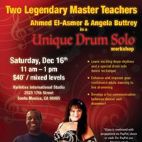 Drum Solo Rhythms and Dance Workshop