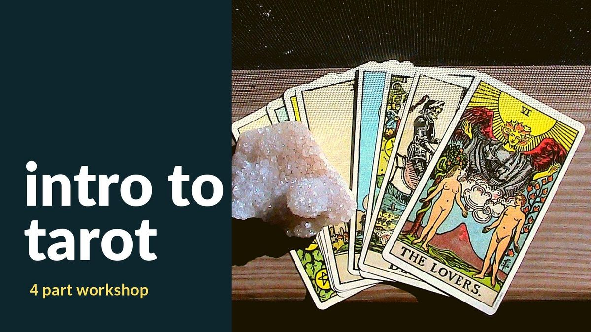 Intro to Tarot with Sheinata Carn-Hall [Bundle All 4 Classes]