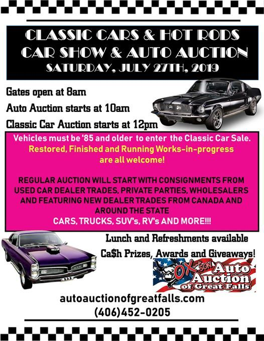 Classic Cars Hot Rods Car Show Auto Auction At Ox Son Auto