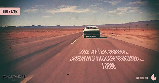The After Maths _Smoking Hiccup Machine_Loom Live at six dogs