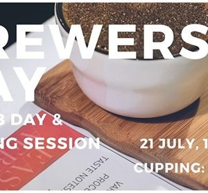 Cupping and Brewers Bay Co-Lab Day