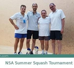 NSA Summer Squash Tournament 2017-2018