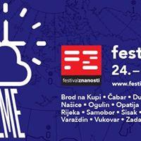 Festival znanosti &quotSve u svoje vrijeme&quot