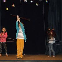 Wednesday kids circus club for 4-7 years.