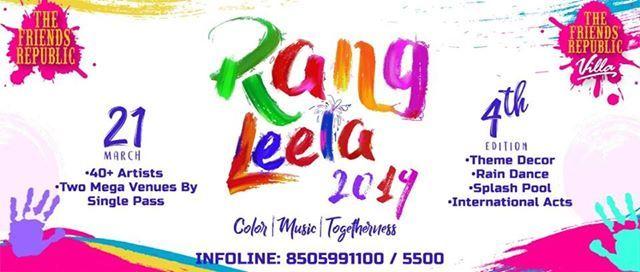 Rang Leela - Expats Holi Festival